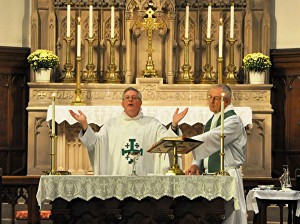 Eucharist at St. Thomas
