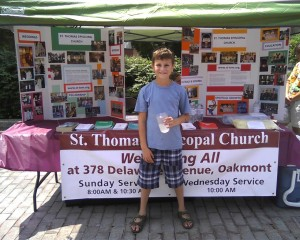 Street Fair Photo of St. Thomas Booth
