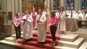 Dan Isadore Diaconal Ordination 2015